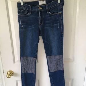 Frame Le Skinny de Jeanne Jeans / Size 28